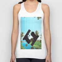 guns Tank Tops featuring guns by Hoeroine