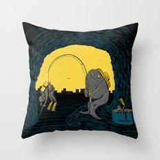 Fisher Fish Throw Pillow