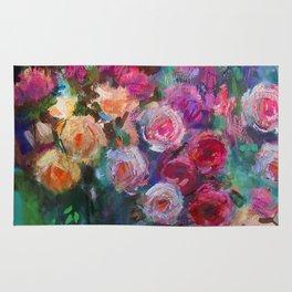 Tea Roses Rug