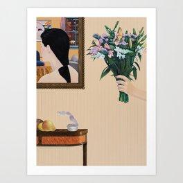 the misunderstanding Art Print