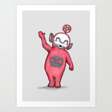 TerrorTubbies Art Print