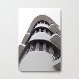 Tel Aviv Bauhaus style building Metal Print