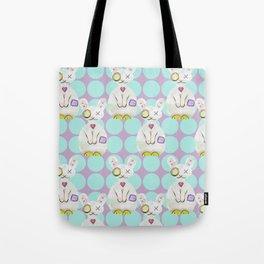 Bunny Zombie Tote Bag