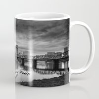 portlandia Mugs featuring Dismal City by Danielle Denham