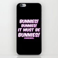 bunnies iPhone & iPod Skins featuring Bunnies by Nana Leonti