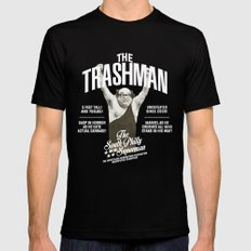 The Trashman Black MEDIUM Mens Fitted Tee