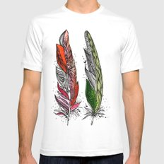 Beauty and Grace Mens Fitted Tee White MEDIUM
