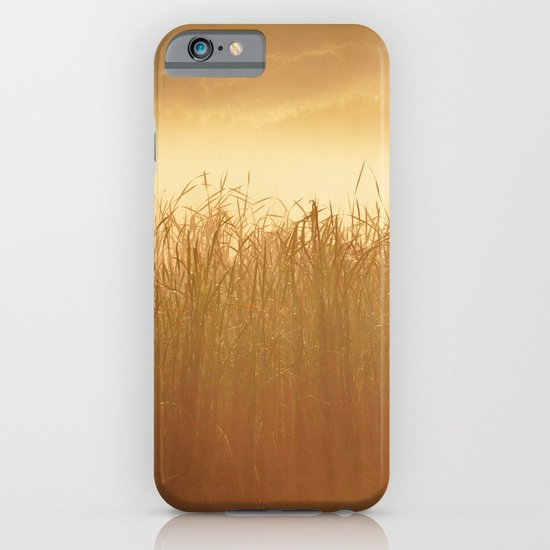 Field Grass in the Mist  2 iPhone & iPod Case