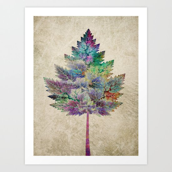 Like a Tree 2. version Art Print