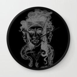 Dark Goddess Wall Clock