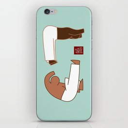 Capoeira 265 vecto iPhone Skin