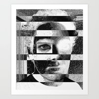 jon contino Art Prints featuring Jon 234 by Jose Luis
