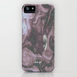 How the Ink Moves III iPhone Case
