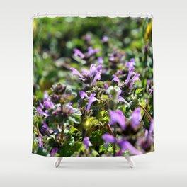 Purple Ground Shower Curtain