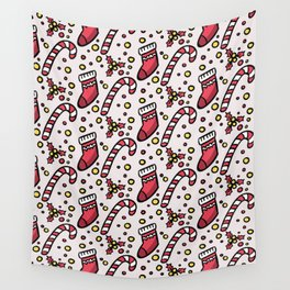 Christmas Pattern Wall Tapestry