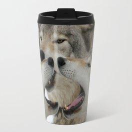 Shouting Match Travel Mug