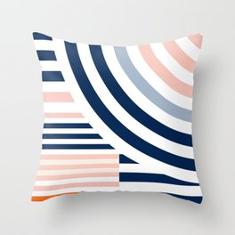 Connecting lines 3. Throw Pillow