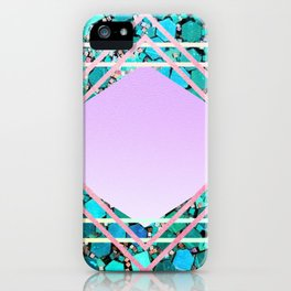Glam and glitter iPhone Case