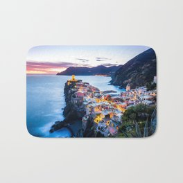 Cinque Terre #society6 #decor #buyart #homedecor Bath Mat