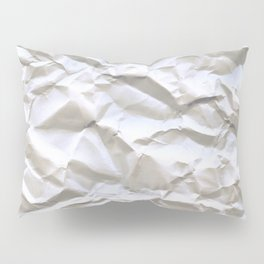 White Trash Pillow Sham