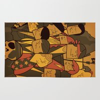 goonies Area & Throw Rugs featuring The Goonies by Ale Giorgini