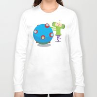 katamari Long Sleeve T-shirts featuring Katamari Demacy by Of Lions And Lambs