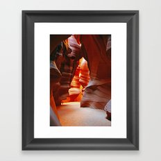Antelope Canyon  Framed Art Print