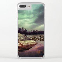 Mystic River Clear iPhone Case