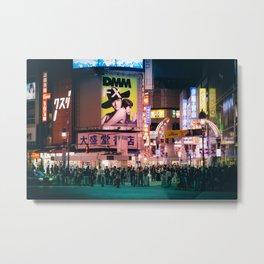 Neo-Tokyo Metal Print