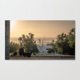 Crépuscule Canvas Print