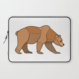 Shapely Brown Bear Laptop Sleeve