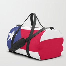Puerto Rico flag emblem Duffle Bag