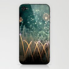 Fireworks Face iPhone & iPod Skin