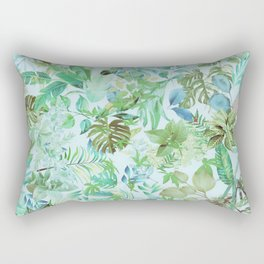 greenery gardens 1 Rectangular Pillow