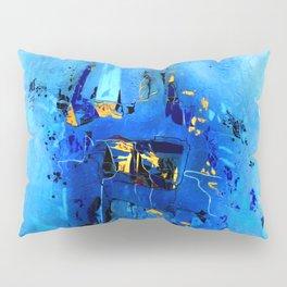 Blue, Black and White Pillow Sham