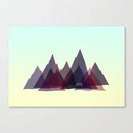 Mountains Spirit v2 Canvas Print