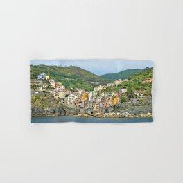 Cinque Terre Italy Hand & Bath Towel