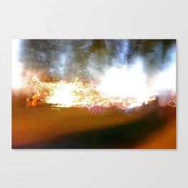 accidental light Canvas Print