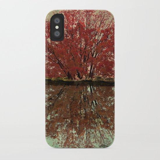 Landscape ~ Reflection iPhone Case
