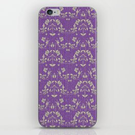 repeating pattern - Purple Haze iPhone Skin