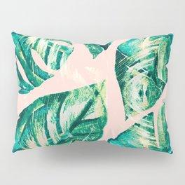 Leaf watercolor pastel Pillow Sham
