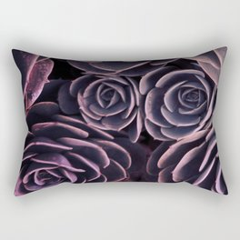 DARKSIDE OF SUCCULENTS I Rectangular Pillow
