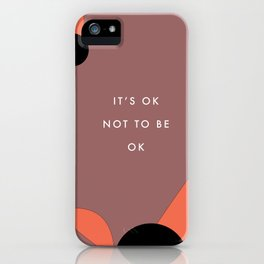 May is mental health month iPhone Case