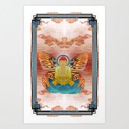 buddherfly #2 Art Print