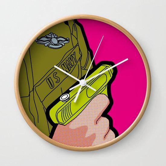 Pop Icon - War Machine Wall Clock