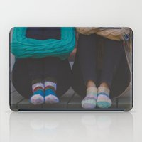 socks iPad Cases featuring wool socks. by lissalaine
