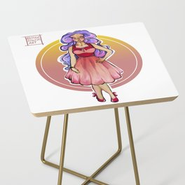 Vintage Girl / Pin up Side Table