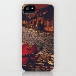 Finale - Cello and Bones iPhone Case