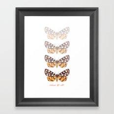 Ranchman's Tiger Moth Framed Art Print