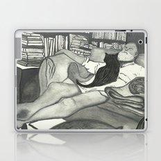 Edward Gorey Portrait Laptop & iPad Skin